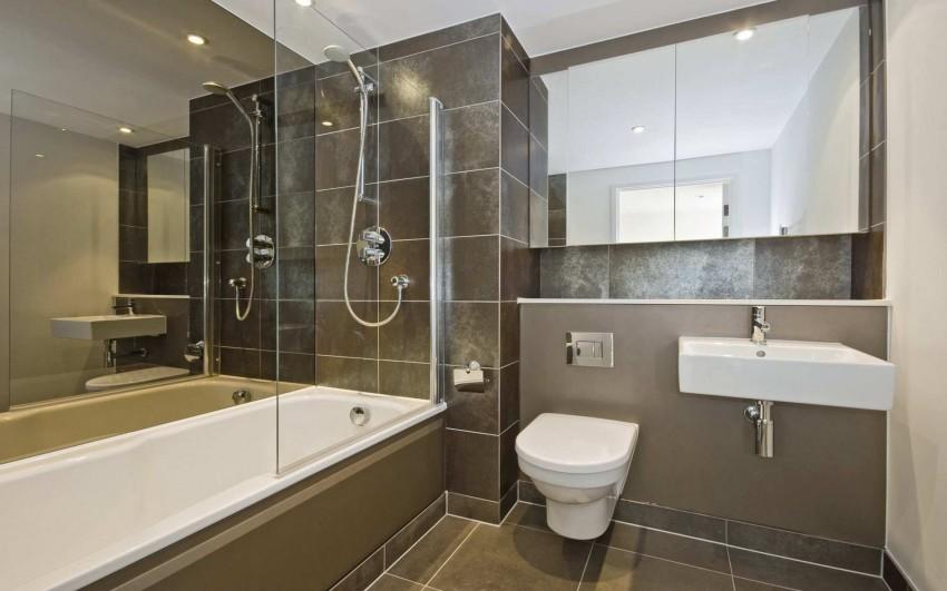 Встроенная ванная: особенности применения, виды, установка и дизайн интерьера для встроенной ванной комнаты (145 фото и видео)