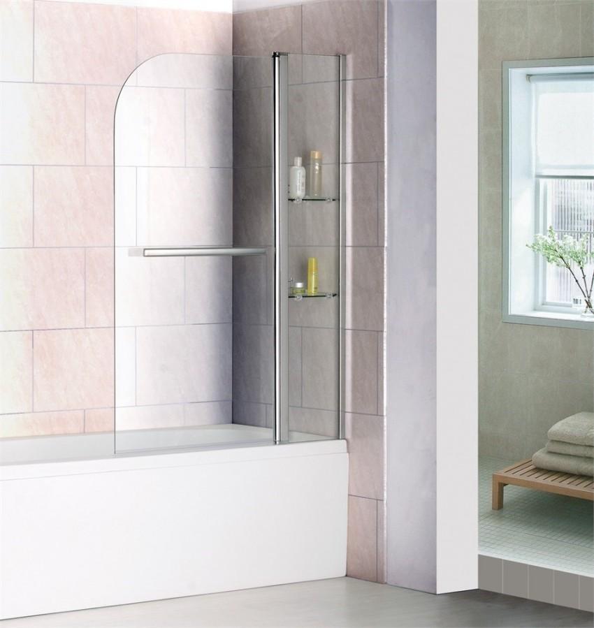 Занавеска для ванной: оригинальные и практичные идеи, новинки сезона и особенности крепления занавесок (85 фото)