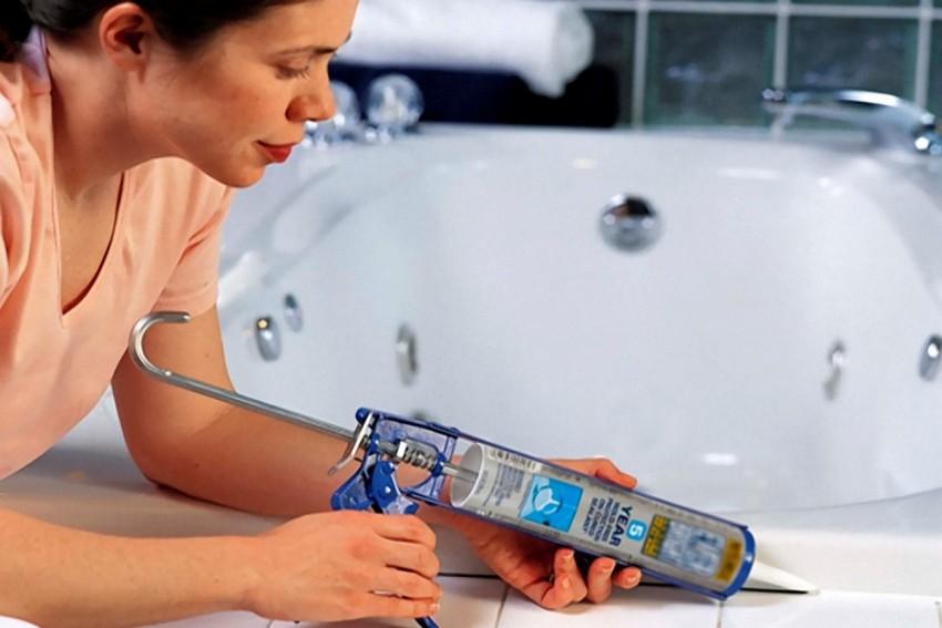 Течь ванной: 115 фото причин появления протечек и основные способы их устранения своими руками
