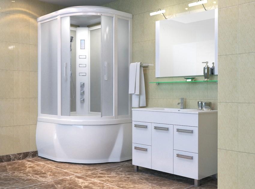 Размеры ванной комнаты - оптимальные параметры, особенности планировки и зонирования помещения (75 фото)