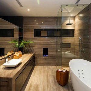 Дизайн ванной под дерево: природная красота и уют в дизайне комнаты