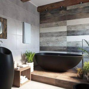 Использование черной сантехники в ванной: все главные аспекты