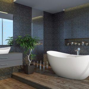 Ванная в эко стиле: природный оазис дома, идеи дизайна ванной